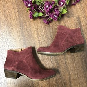 Lucky Brand Suede Brolley Bootie